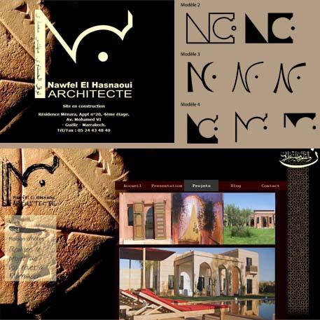 logo et présentation des projets