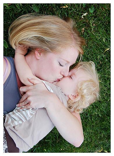 Kevin mit Mama Steffi