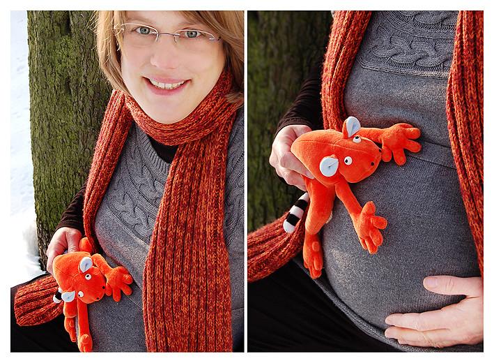 Model: Annika mit Babybauch