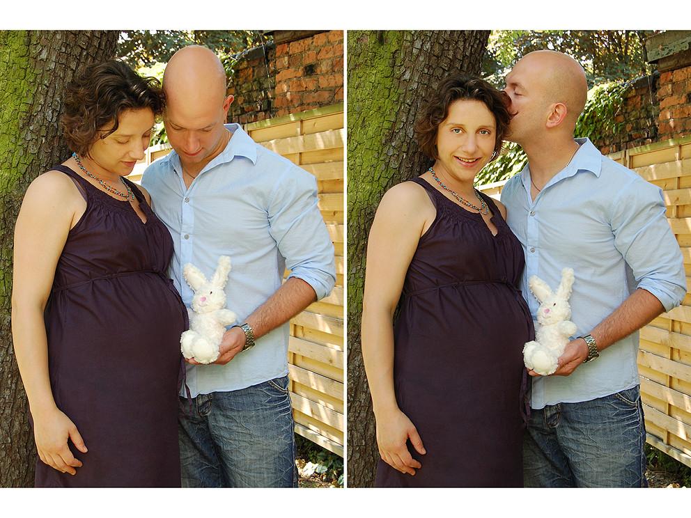 Babybauchshooting mit Ramona und Dirk, Juni 2010