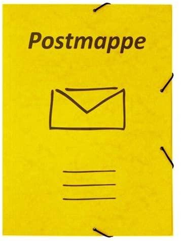 Beispiel einer Postmappe