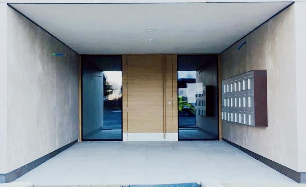 Eingangsfront in MFH Bad Ragaz