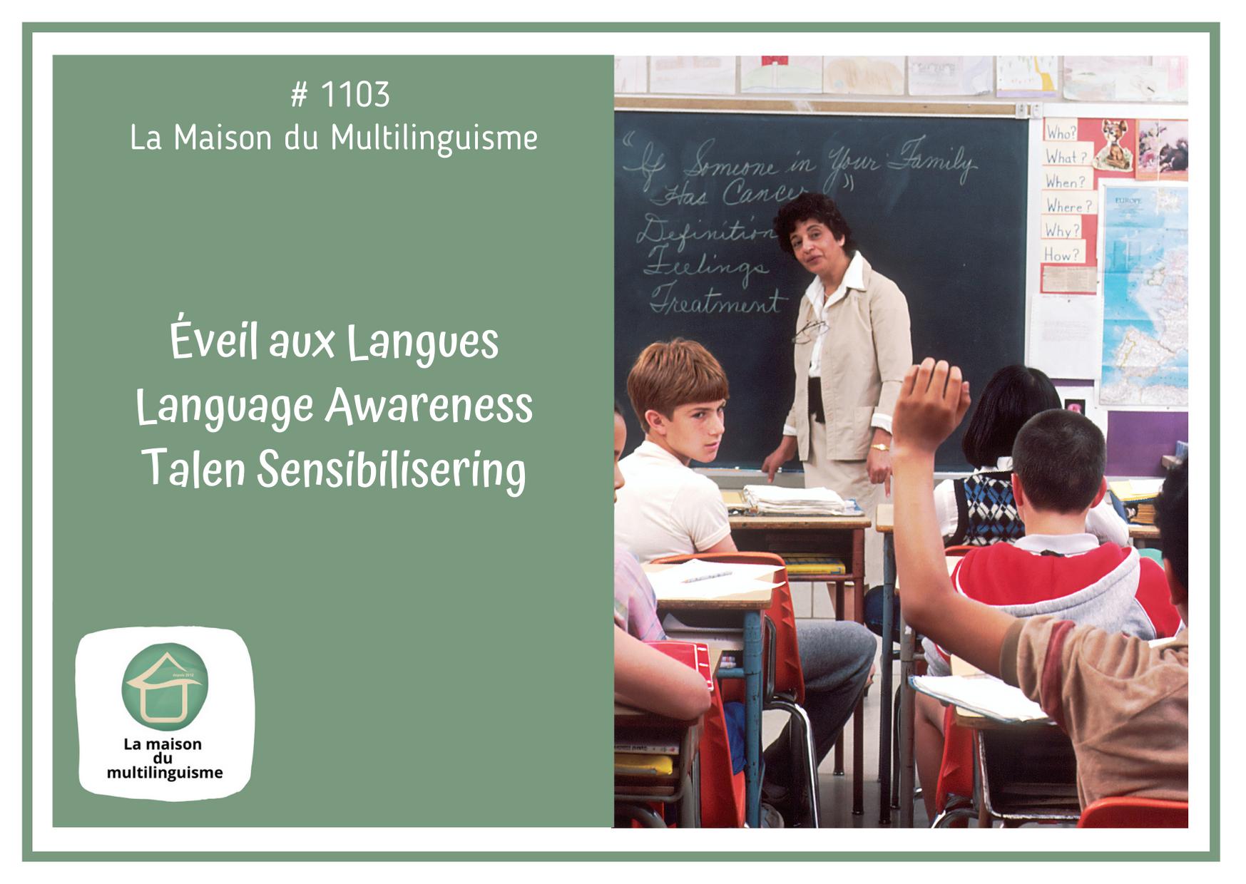 Éveil aux Langues / Language Awareness / Talen sensibilisering