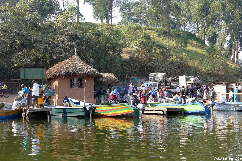 Bootsfahrt Lake Bunyonyi - 64 Fotos