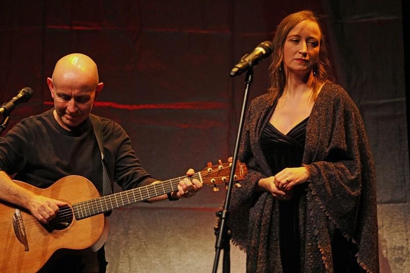 KIERAN GOSS & ANNIE KINSELLA, März 2016, Foto von Ingo Nordhofen