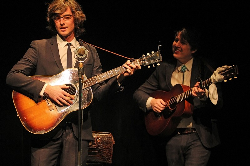 THE MILK CARTON KIDS, Jan. 2016, Foto von Ingo Nordhofen