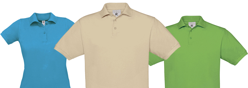 Textildruck Polo Shirts