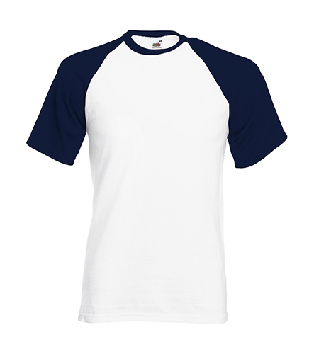 White/Deep Navy