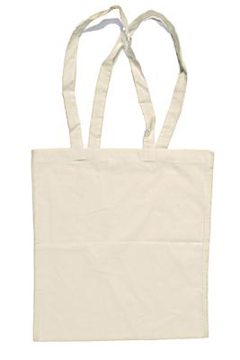 Taschendruck Baumwolltasche, lange Henkel, XT800 NATURAL