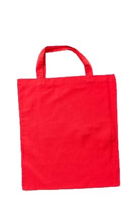 Taschendruck Baumwolltasche, kurze Henkel, XT002