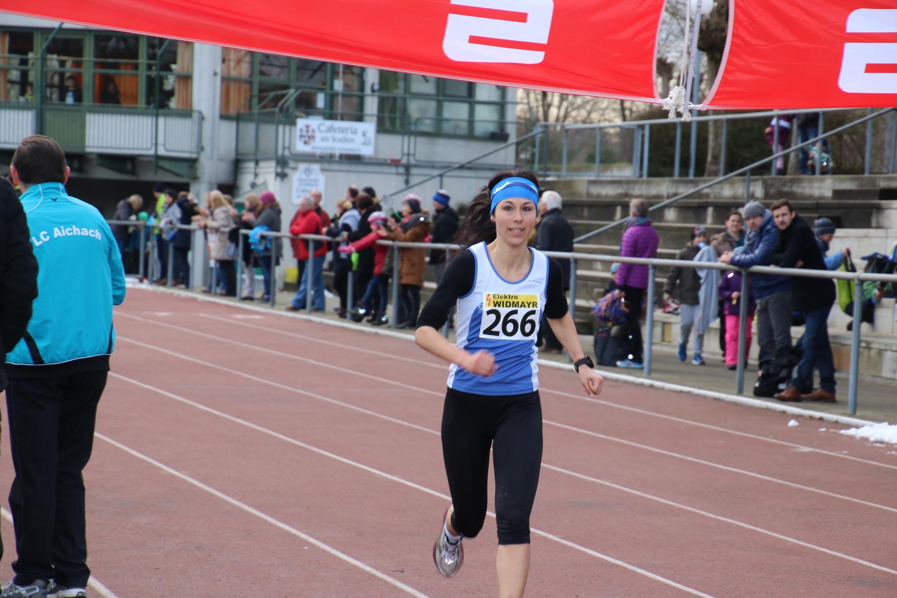 2.Platz Frauen: Hoppmair Elisabeth PTSV Rosenheim