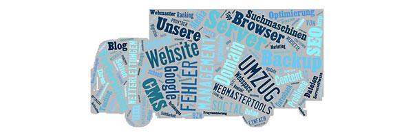 Wir ziehen Ihre bestehende Seite für 750 € zu Jimdo, 1 & 1, Wordpress oder einem andern Betreiber und Content Managment System (CMS) um!