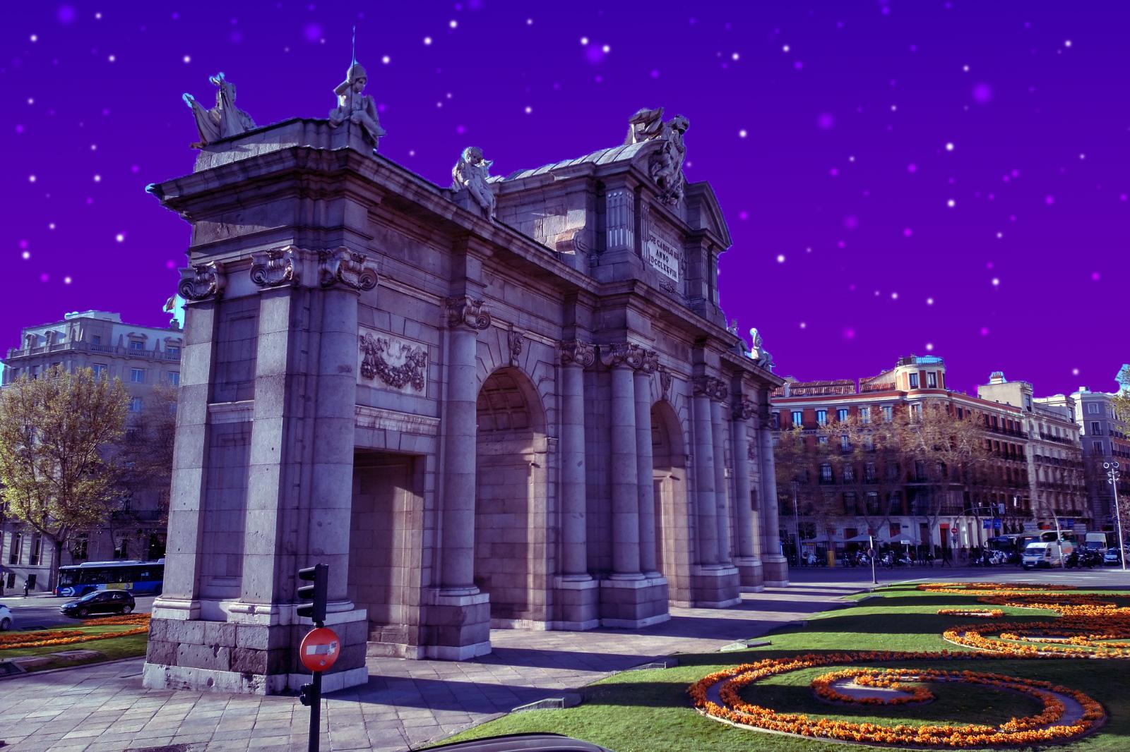 Meine Photoshopkünste a la Spanische Postkarte.