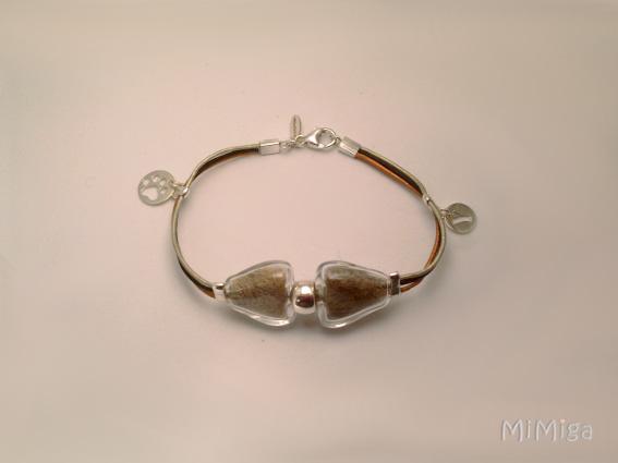 yacky-joya-artistica-mi-miga-pulsera-memoria-recuerdo-plata-ley-cuero-perla-cristal-pelo-animal-perro-plata-charm-huella-letra-inicial