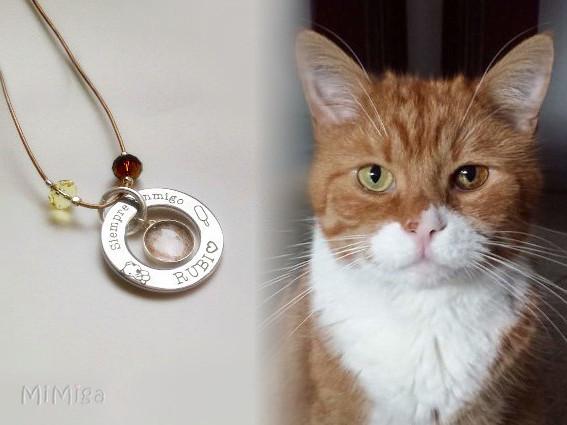 joya-artistica-recuerdo-con-pelo-animal-mi-miga-collar-cuero-plata-ley-aro-acero-grabado-engaste-swarovski-gato-rubi