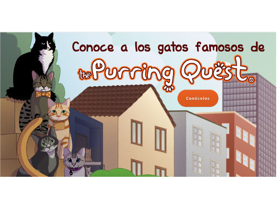Videojuego - The Purrington Quest