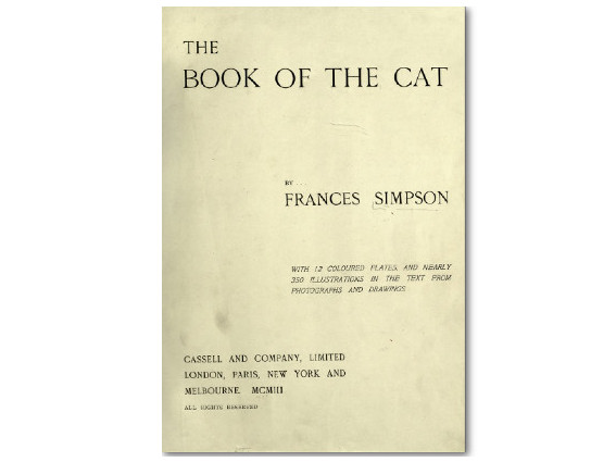 The Book of the Cat (1903)