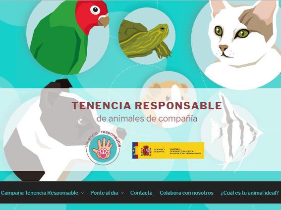 campaña eres responsable tenencia responsable animales mapama