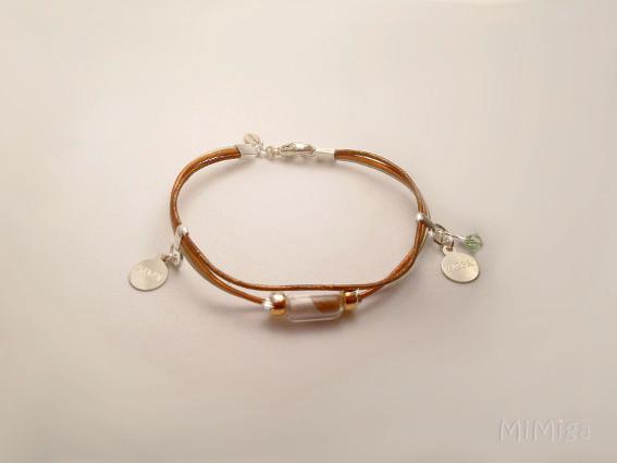 mi-miga-artistic-jewel-memorial-bracelet-leather-silver-gold-name-tags-cat-daughter-glass-tube-animal-hair-zarpa