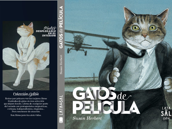 Gatos de Película (Susan Herbert) - Editorial Lata de Sal