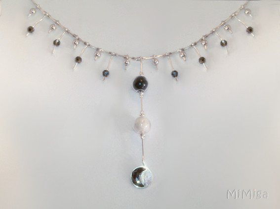 joya-artistica-mi-miga-collar-recuerd-memoria-plata-ley-perlas-cuentas-colgante-swarovski-perlas-cristal-pelo-animal-perro-luna
