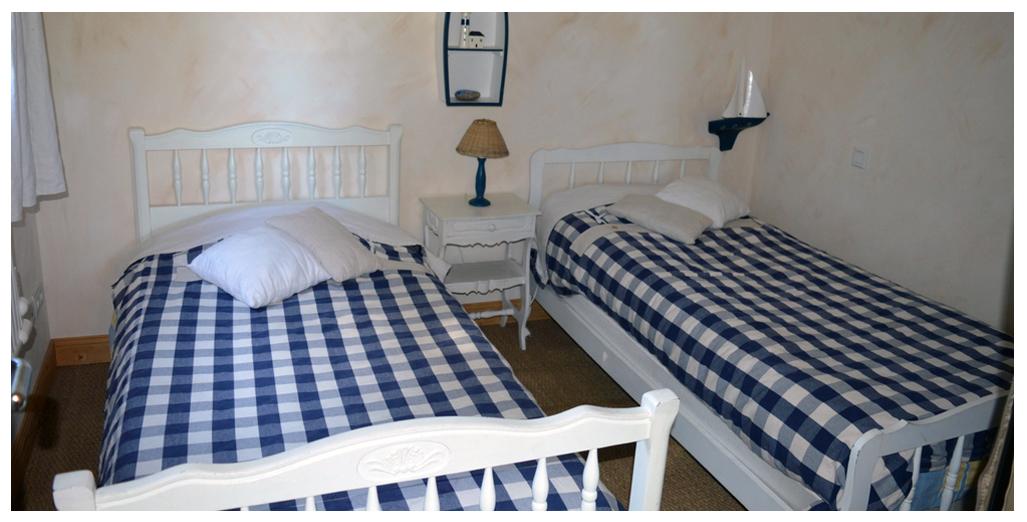 Chambre 2 lits de 90 cm du gite Pomme d'Or
