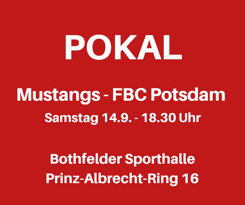 Pokal Mustangs gegen Potsdam