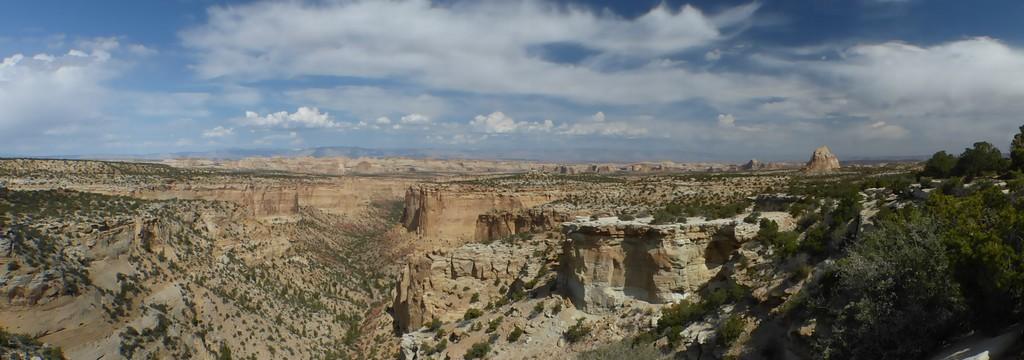 Quelques aspects des paysages sur la route de Moab vers Salina