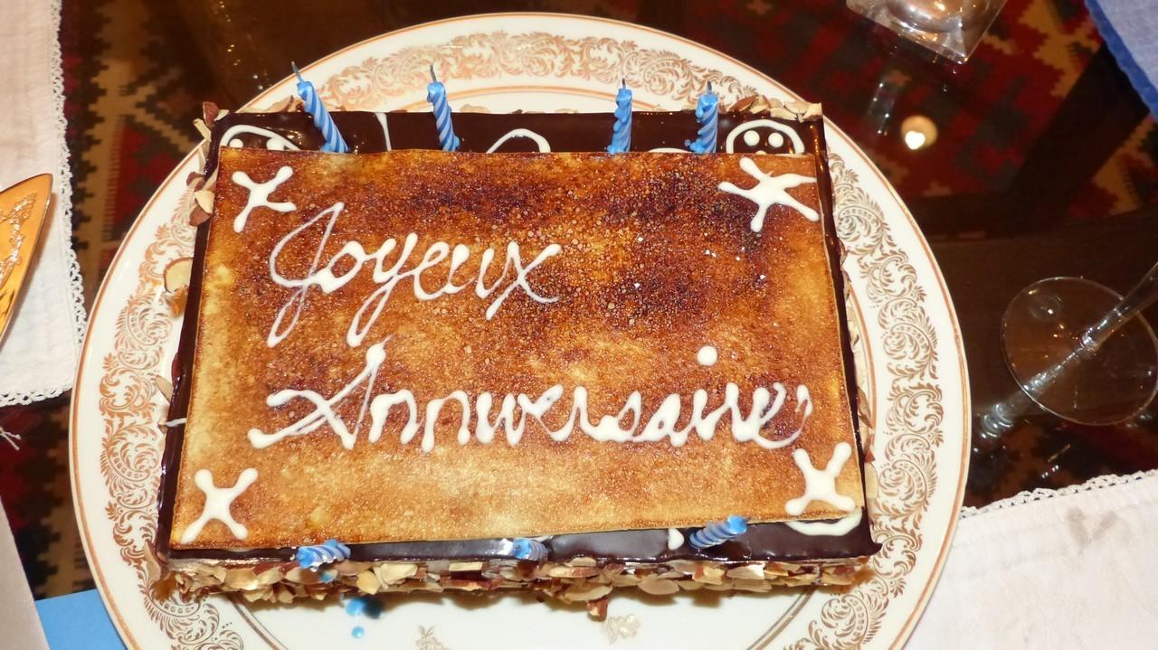 Très beau et bon gâteau