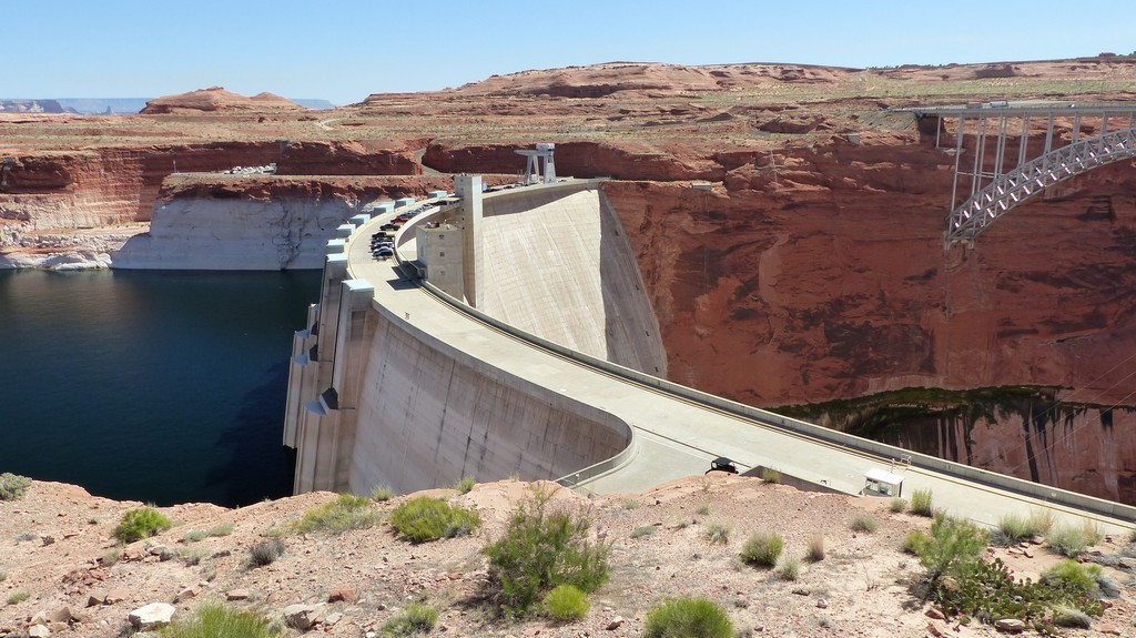 Le barrage du Lac Powell