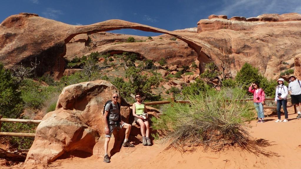 """""""Landscape Arch"""", la plus grande (près de 100m)"""