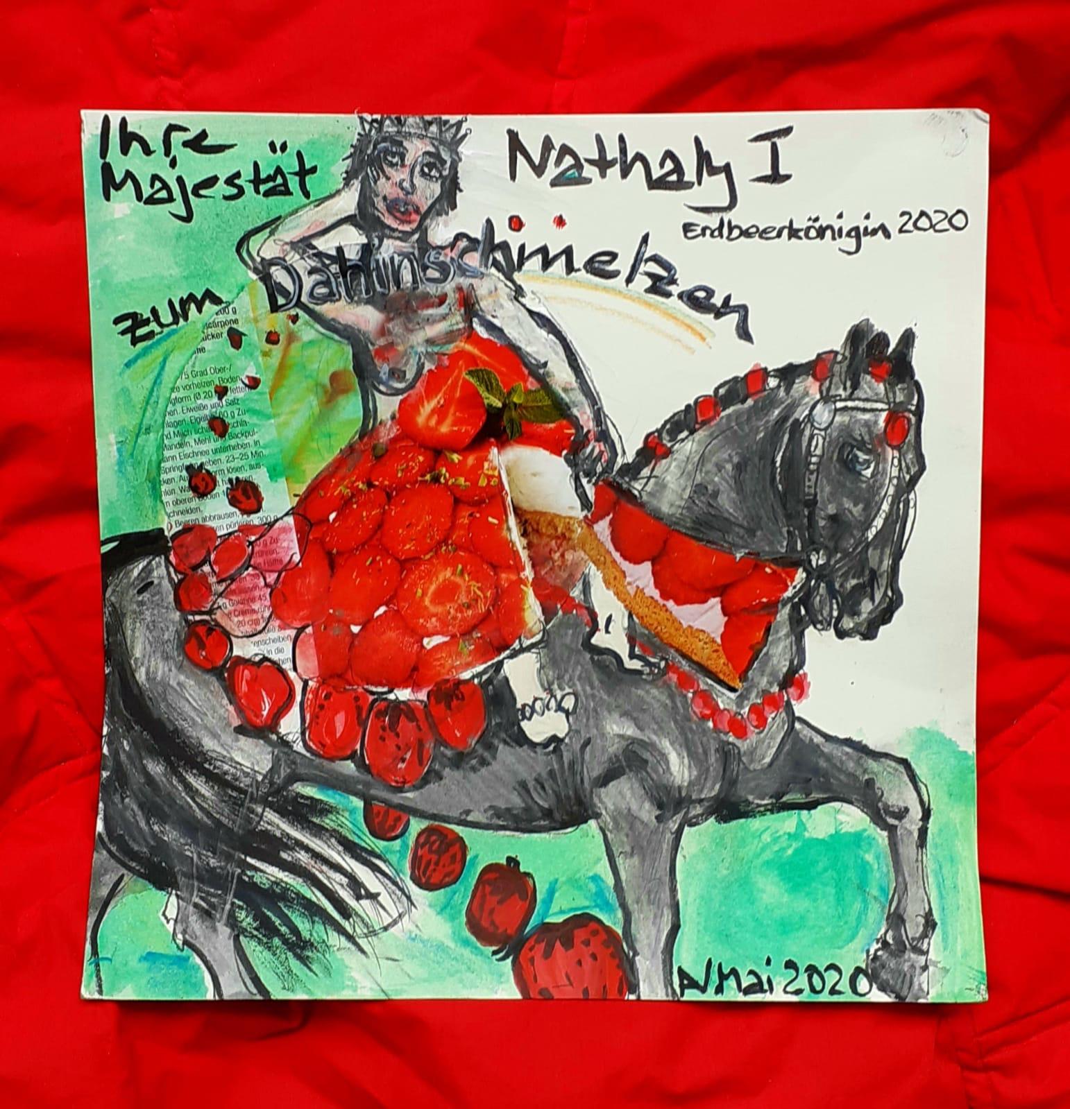 Nathaly und die Erdbeerkönigin