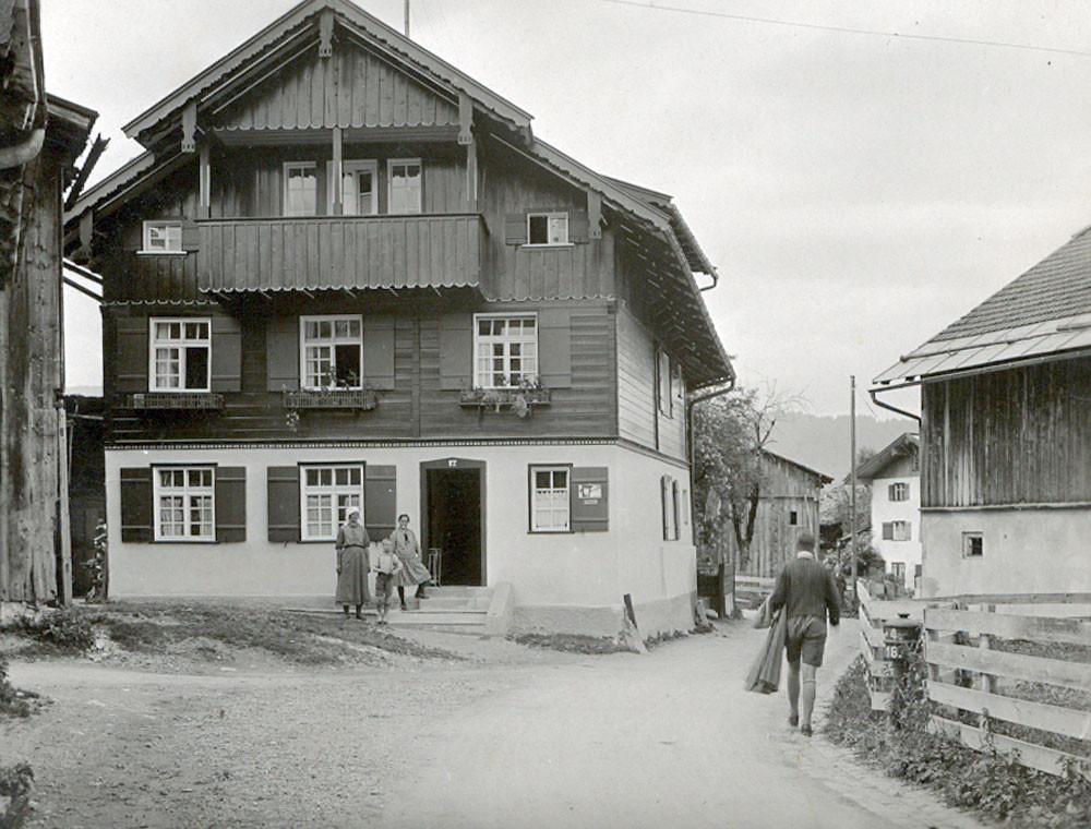 Ferienhaus in Oberstdorf, Ferienhaus Sehrwind – Haus Sehrwind im Jahre 1930