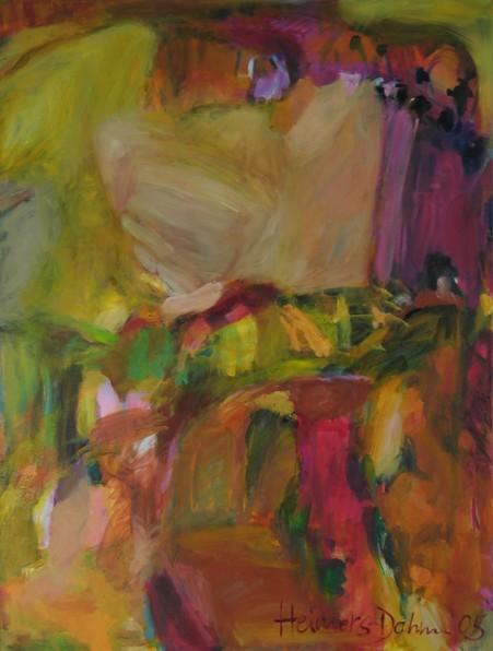 Afrika, 2005, Öl auf Leinwand, 105 x 80