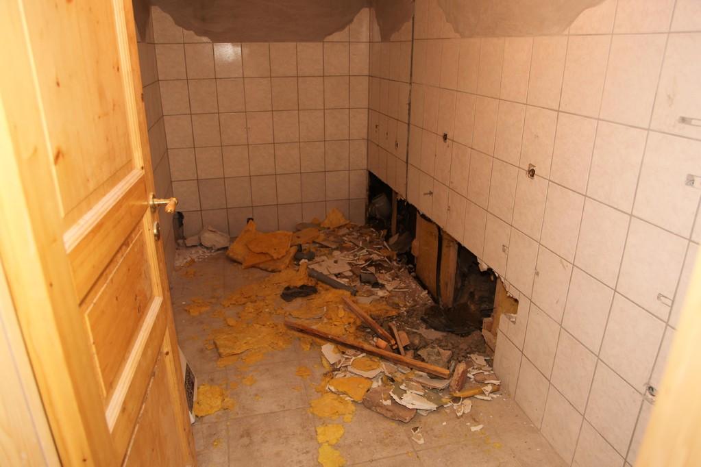 Der Vorbesitzer hatte bereits Sanitäreinrichtungen im Kellerbereich vorgesehen. Diese werden komplett erneuert.