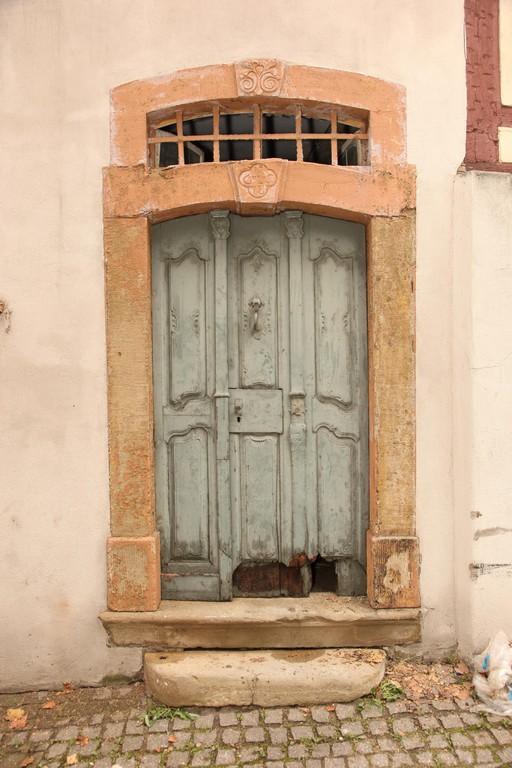 Das Gerberhaus verfügt über 6 Eingangstüren. Die älteste Tür zeigt die Jahreszahl 1778.