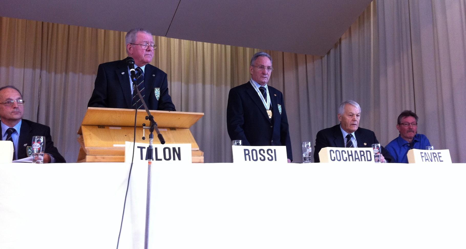 Francis ROSSI (responsable 300 M) Jean-Pierre COCHARD (Pist)
