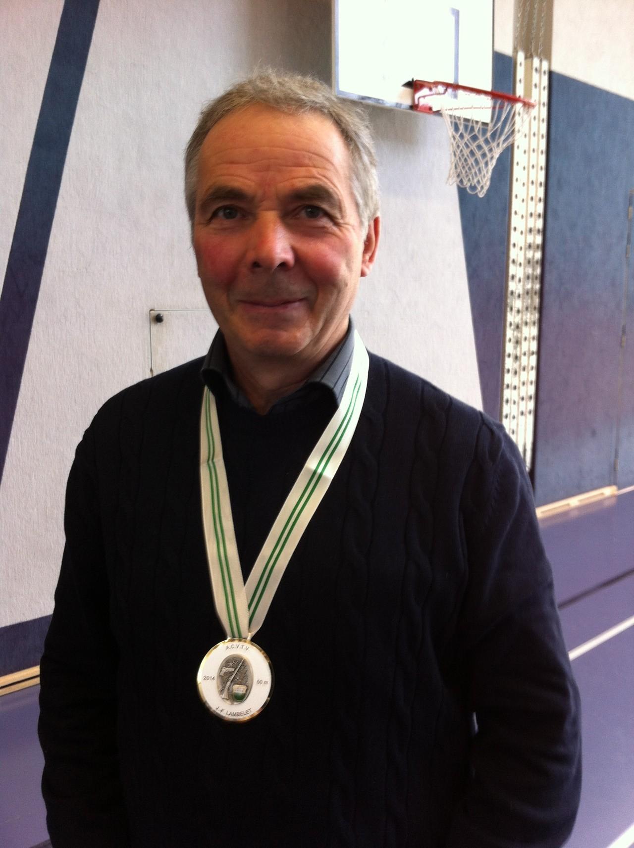 Jean-François LAMBELET (2ème 50 M)