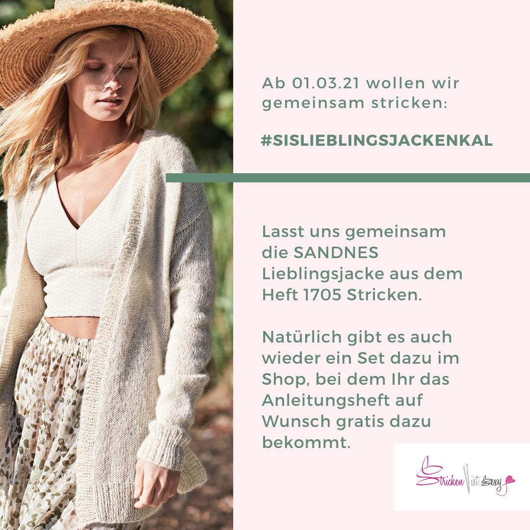 KnitAlong: SANDNES Lieblingsjacke