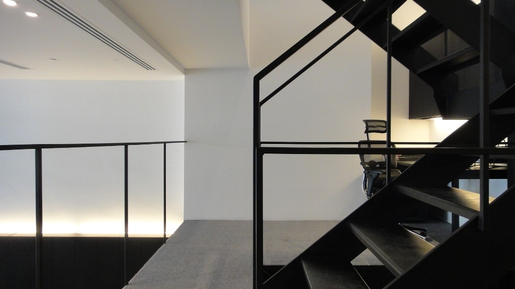 Brownbook Office Stairs
