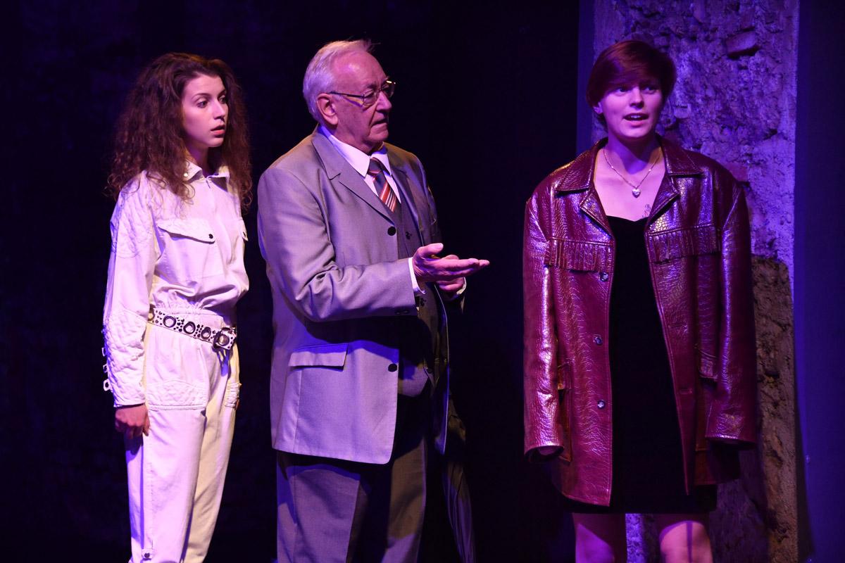 Laura Enzenhofer, Gerhard Becker, Antonietta Hintringer
