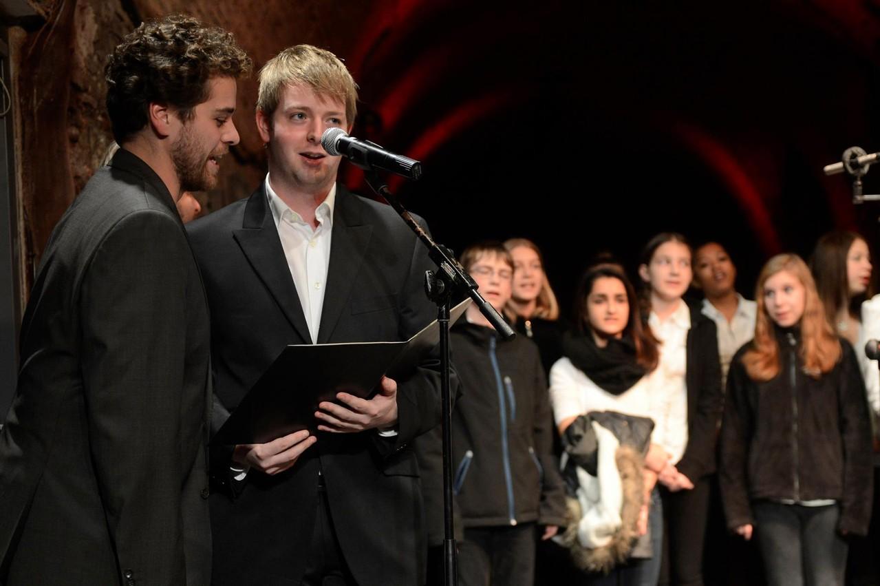 Sebastian Brummer, Marcel-Philip Kraml, Chor der Musikhauptschule
