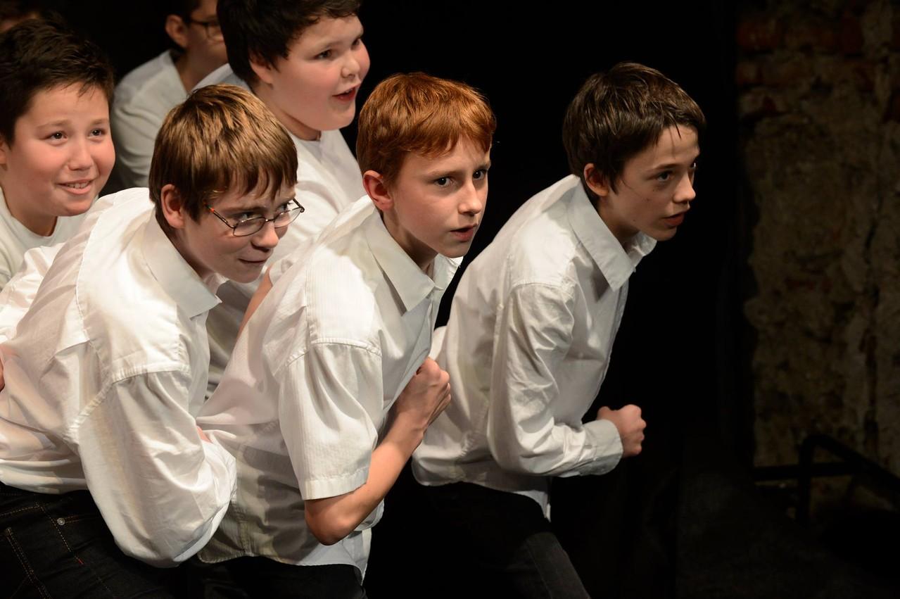 Chor der Musikhauptschule
