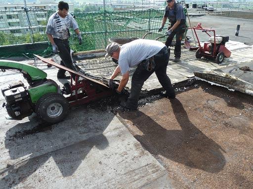 Umsetzung von Sanierungsmaßnahmen