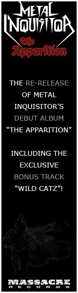 Ad for Metal Inquisitor Album The Apparition