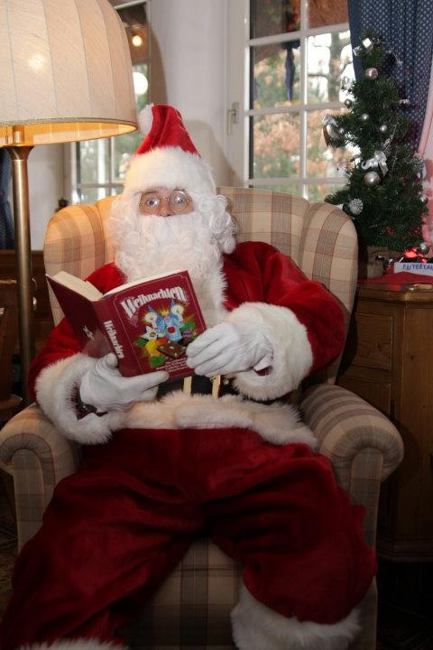 Lesestunde vom Santa