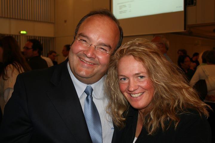 Paul Metz mit Tina