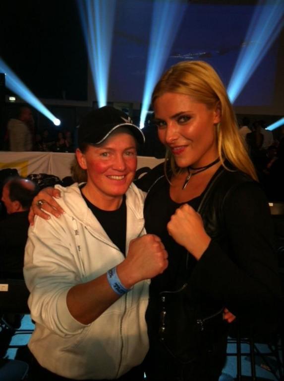 Tina mit Sophie Thomalla