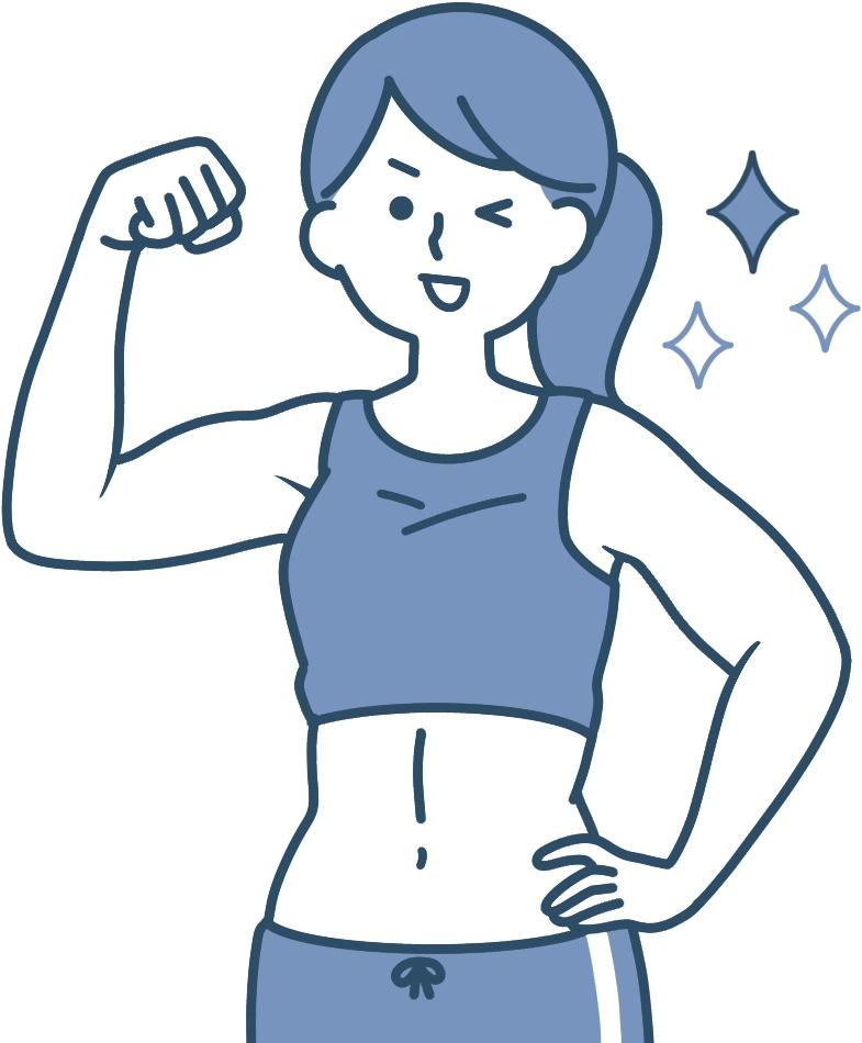 筋肉質で痩せにくい人にもエンダモロジーがオススメです★
