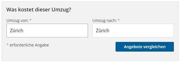 Umzug Zürich Schweiz Eu Billig Umzug Zuerichs Webseite